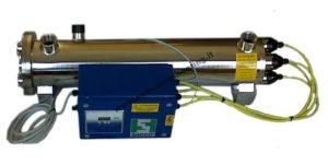 Debatterizzatore acqua UV tipo SUV_100_4S