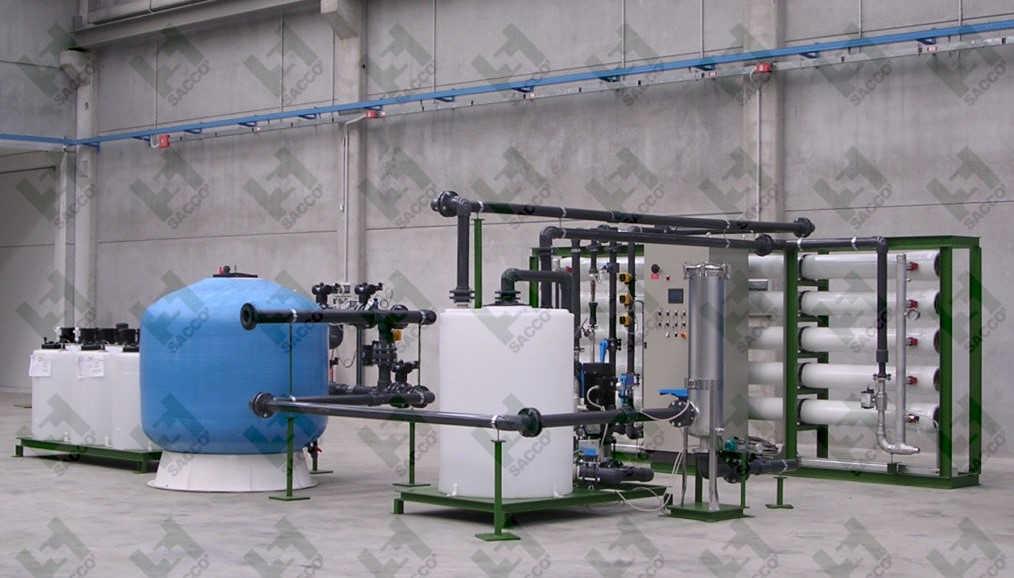 osmosi inversa industriale acqua salmastra