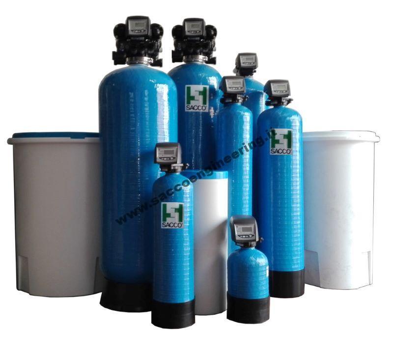 Addolcitori acqua a due elementi