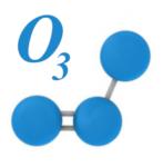 molecola ozono