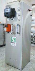 Osmosi inversa per impianto idrotaglio